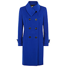 Buy Precis Petite Wool Coat, Cobalt Online at johnlewis.com
