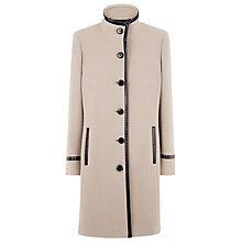 Buy Windsmoor Leatherette Coat, Camel Online at johnlewis.com