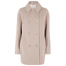 Buy Windsmoor Short Double Breasted Coat, Camel Online at johnlewis.com
