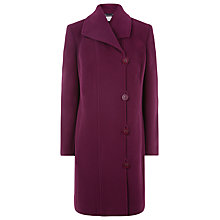 Buy Windsmoor Mid Coat, Claret Online at johnlewis.com