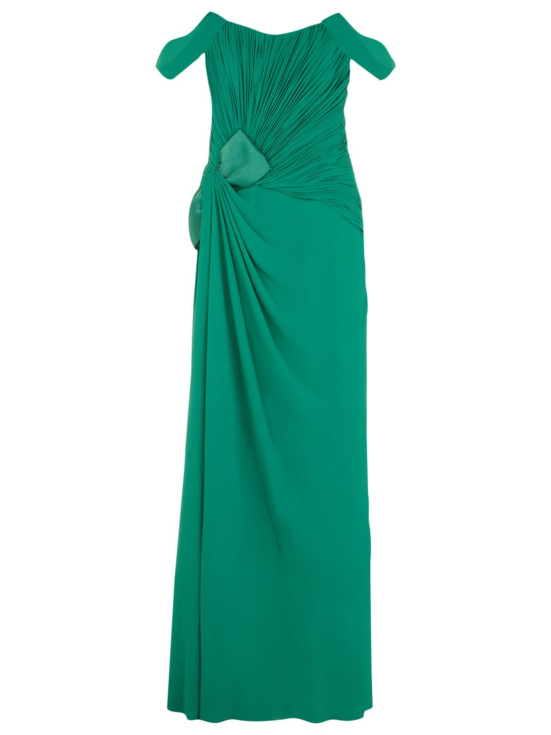 jacques vert bow detail gown emerald, jacques, vert, bow, detail, gown, emerald, jacques vert, 20|12|14|10, clearance, womenswear offers, womens dresses offers, women, eveningwear, special offers, inactive womenswear, new reductions, womens dresses, aw14 trends, pillar box, 1691726