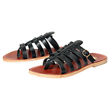 Buy H by Hudson Alchemy Leather Slip-On Sandals Online at johnlewis.com