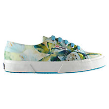 Buy Superga 2750 Cotu Classic Trainers, Tropical Green Online at johnlewis.com