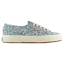 Buy Superga 2750 Cotu Classic Trainers, Blue Azul Online at johnlewis.com