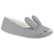 Buy John Lewis Lavender Slippers, Grey Online at johnlewis.com
