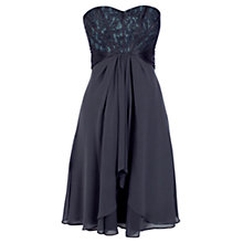 Buy Coast Suri Short Dress, Grey Online at johnlewis.com