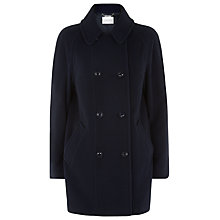 Buy Windsmoor Short Coat, Navy Online at johnlewis.com