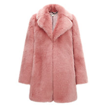 Buy Whistles Kumiko Faux Fur Coat Online at johnlewis.com