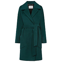 Buy Windsmoor Belted Coat, Teal Online at johnlewis.com