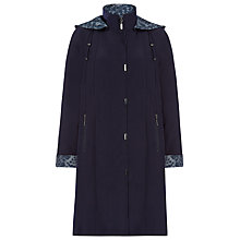 Buy Jacques Vert Mid Length Mac, Navy Online at johnlewis.com