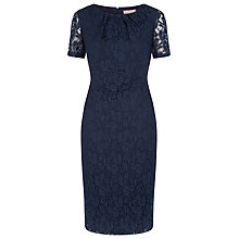 Buy Planet Lace Dress, Navy Online at johnlewis.com