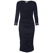 Buy Damsel in a dress Silverton Dress, Navy Online at johnlewis.com