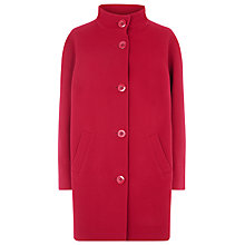 Buy Windsmoor Funnel Neck Coat, Red Online at johnlewis.com