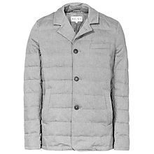 Buy Reiss Vialli Quilted Jacket, Grey Online at johnlewis.com