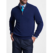 Buy Thomas Pink Hartley Cashmere Jumper, Navy Online at johnlewis.com