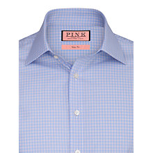 Buy Thomas Pink Stopford Check Shirt, Blue/Red Online at johnlewis.com