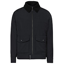 Buy Reiss Caleb Aviator Jacket, Navy Online at johnlewis.com