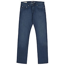 Buy Reiss Hawbury Washed Denim Jeans, Blue Online at johnlewis.com