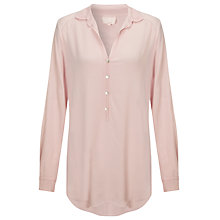 Buy Ghost Beth Shirt, Peach Blush Online at johnlewis.com
