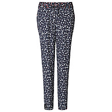 Buy Ghost Davina Trousers, Difused Animal Pink/grey Online at johnlewis.com