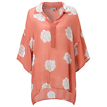 Buy Ghost Verity Top, Peony Flower Online at johnlewis.com