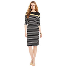 Buy Lauren Ralph Lauren Fransheska Crew Neck Dress, Multi Online at johnlewis.com