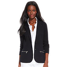 Buy Lauren Ralph Lauren Blazer, Black Online at johnlewis.com