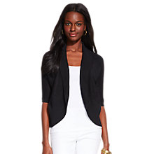 Buy Lauren Ralph Lauren Telana Cardigan, Black Online at johnlewis.com