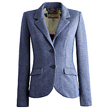 Buy Joules Henford Jersey Blazer, Blue Online at johnlewis.com