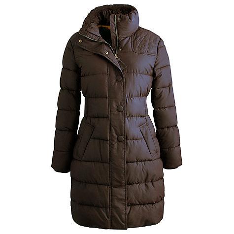 Buy Joules Langridge Padded Coat, Black Online at johnlewis.com