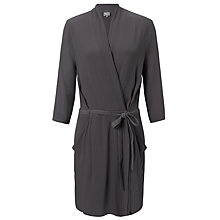 Buy Ghost Tabatha Dress, Charcoal Online at johnlewis.com
