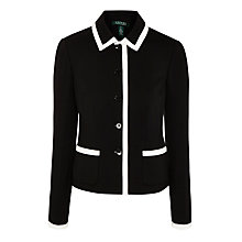 Buy Lauren Ralph Lauren Arkandia Jacket, Black Online at johnlewis.com