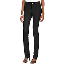 Buy Lauren Ralph Lauren Anjai Slim Trousers, Black Online at johnlewis.com