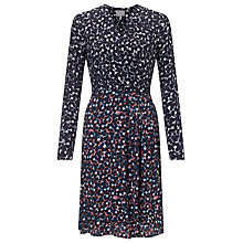 Buy Ghost Sally Dress, Pink/Grey Online at johnlewis.com