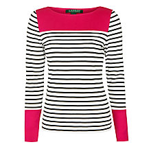 Buy Lauren Ralph Lauren Felisiana Top, Multi Online at johnlewis.com