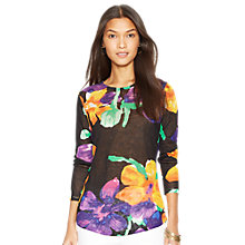 Buy Lauren Ralph Lauren Clarensia Top, Multi Online at johnlewis.com
