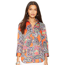 Buy Lauren Ralph Lauren Priya Cotton Shirt Online at johnlewis.com