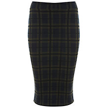 Buy Miss Selfridge Check Pencil Skirt, Assorted Online at johnlewis.com