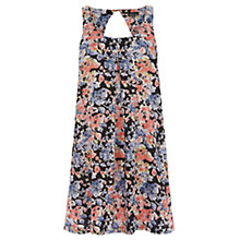 Buy Warehouse A Line Swing Dress, Black Online at johnlewis.com