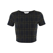 Buy Miss Selfridge Check Co Ord Top, Assorted Online at johnlewis.com