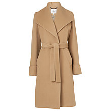 Buy L.K. Bennett Hayley Luxe Belted Coat, Camel Online at johnlewis.com