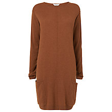 Buy L.K. Bennett Sultan Wool Knit Dress, Toffee Online at johnlewis.com
