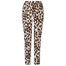 Buy L.K. Bennett Pansy Trousers, Toffee Online at johnlewis.com