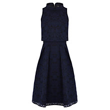 Buy Coast Shola Lace Dress, Navy Online at johnlewis.com