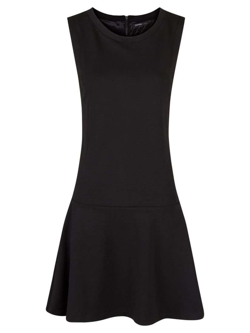 mango flared ponte dress, mango, flared, ponte, dress, black, clearance, womenswear offers, womens dresses offers, women, inactive womenswear, new reductions, womens dresses, special offers, 1692843
