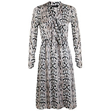Buy Miss Selfridge Snake Pussybow Dress Online at johnlewis.com