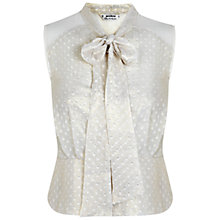 Buy Miss Selfridge Petites Shimmer Blouse Online at johnlewis.com