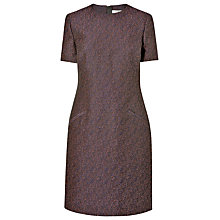 Buy L.K. Bennett Belvis Tweed T-Shirt Dress, Navy Tweed Online at johnlewis.com
