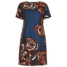 Buy L.K. Bennett Joe Rose Print Dress, Rose Online at johnlewis.com