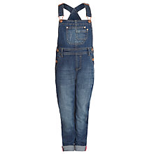 Buy John Lewis Girl Dungarees, Denim Online at johnlewis.com